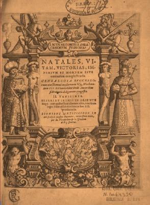 Acta Mechmeti i Saracenorum principis natales vitam, victorias, imperium et mortem eius ominosam complectentia.