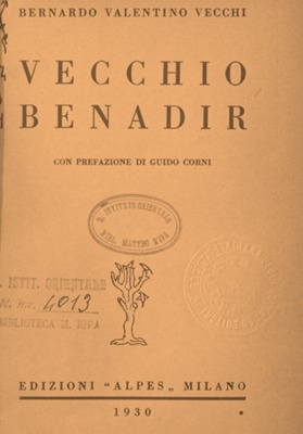 Vecchio Benadir